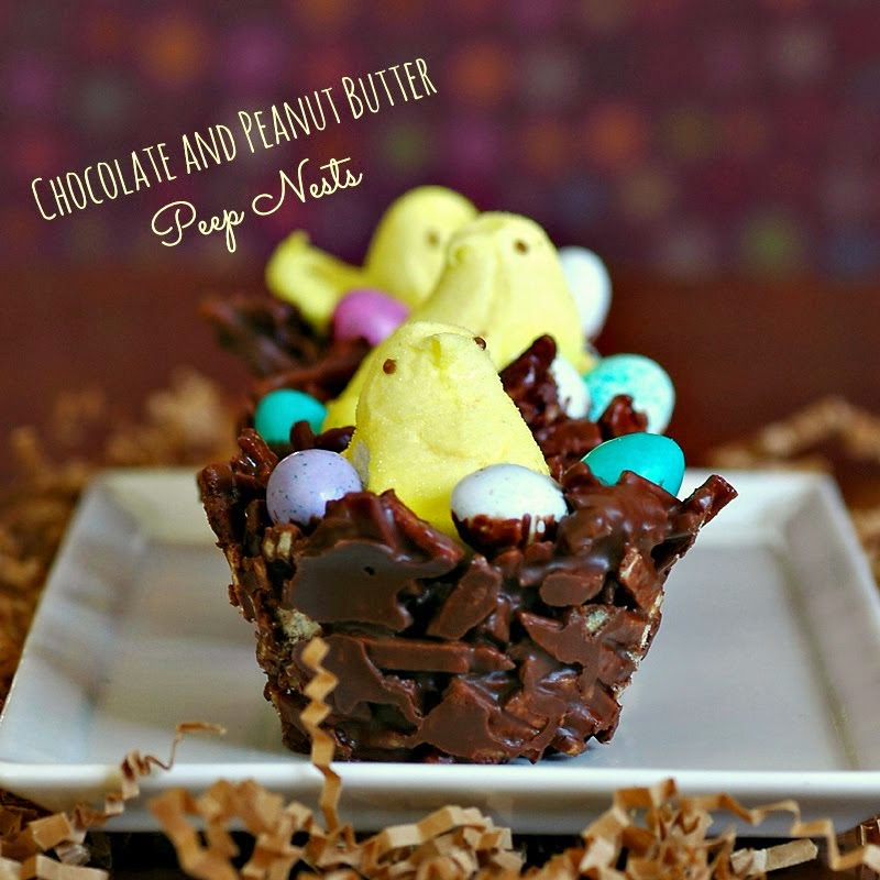 Chocolate and Peanut Butter 'Nests'
