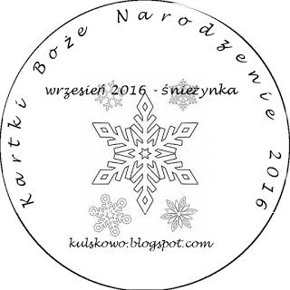 kartki BN- śnieżynka