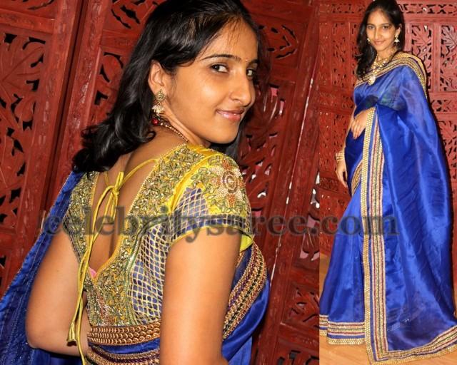 Srihita's Designer Saree