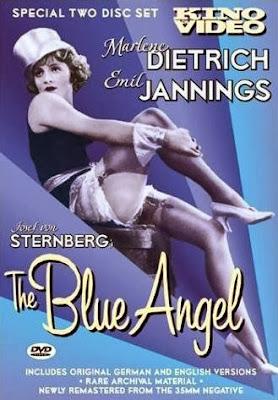 El ángel azul | 1930 | Der blaue Engel | DvD Cover, carátula