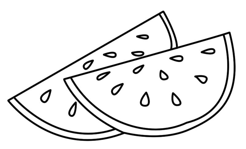 desenhos para colorir frutas e legumes