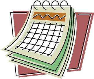calendrier de bureau (dessin)
