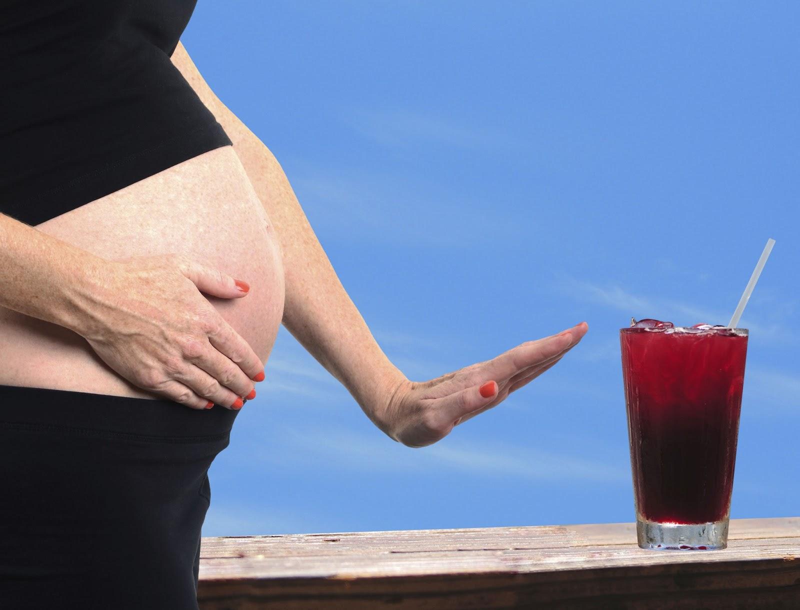 Grossesse et alcool : risques de l'alcool chez la femme
