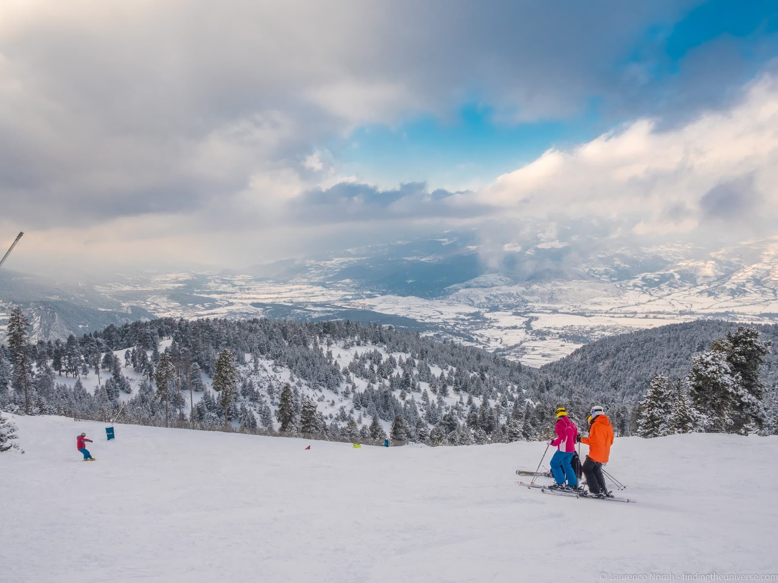 Skiing In The Spanish Pyrenees Finding The Universe