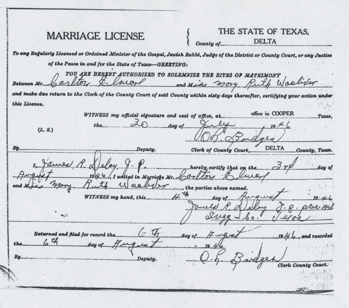 Symphonicsue i finally found mary and carltons marriage certificate at the delta county courthouse i only found it because i went there personally page by page 1betcityfo Image collections