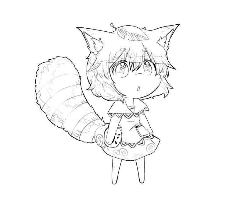 printable-mamizou-futatsuiwa-cute-coloring-pages