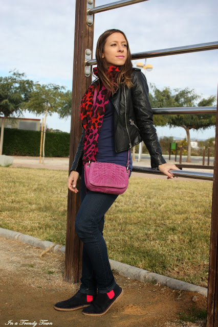Print animal fucsia