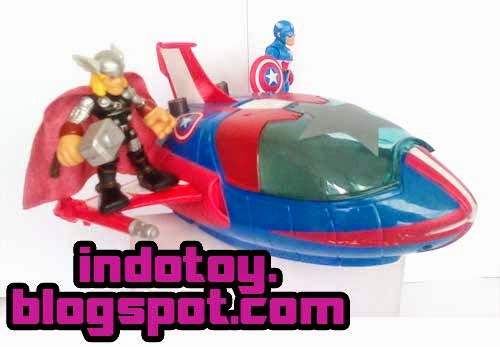 JualAction  Figure Avenger Ship