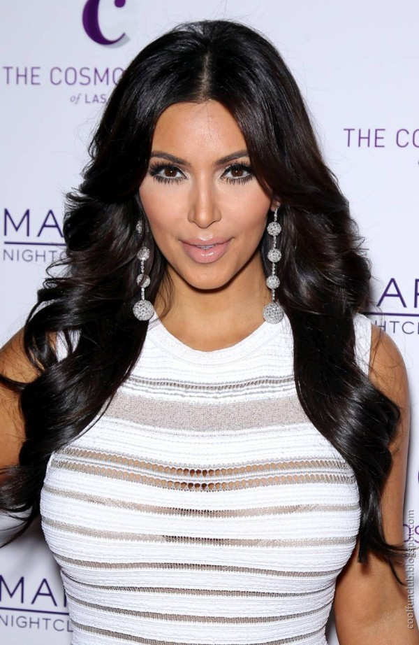 Kim Kardashian at Party in Las Vegas Pictures