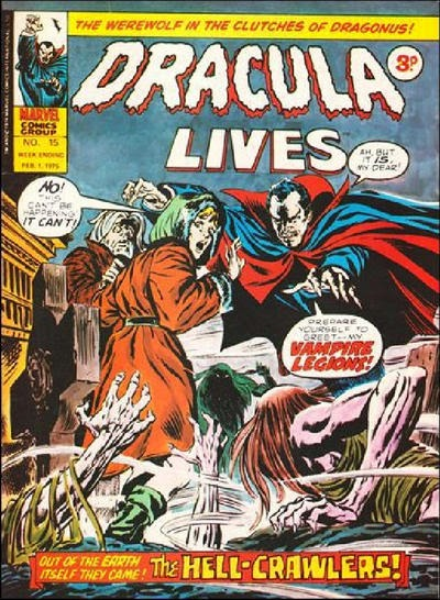 Marvel UK Dracula Lives #15