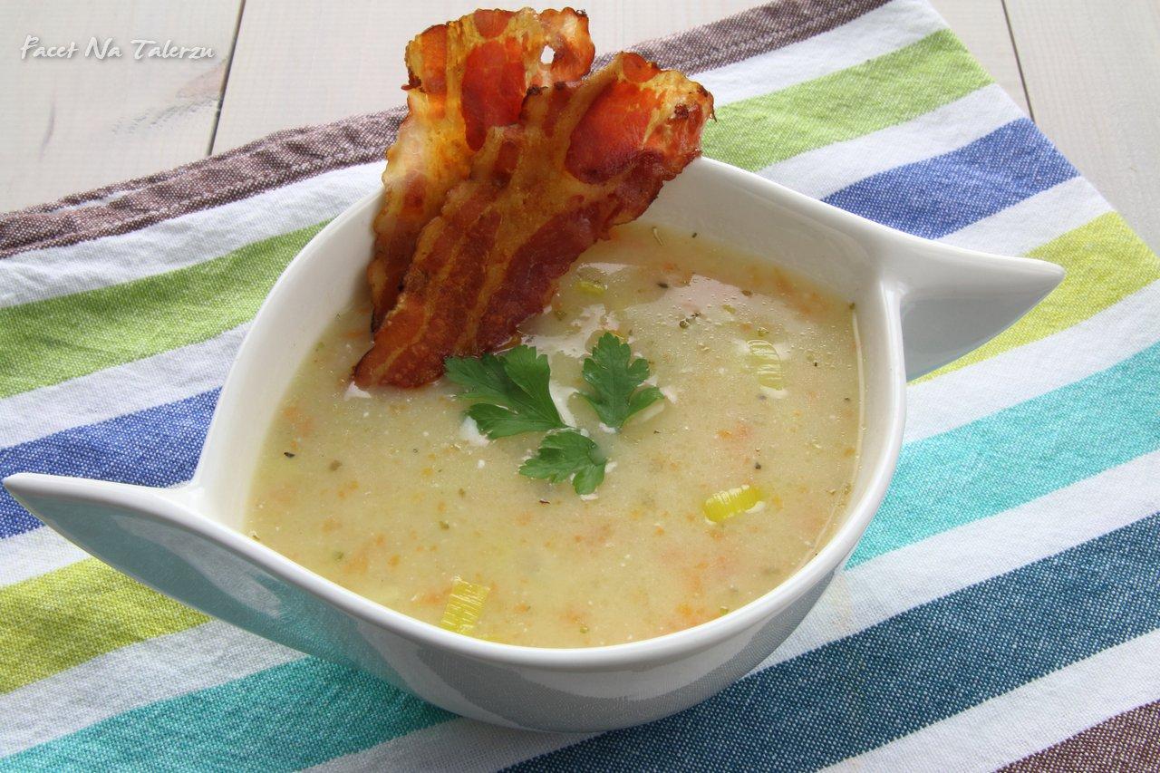 Bawarska zupa ziemniaczana