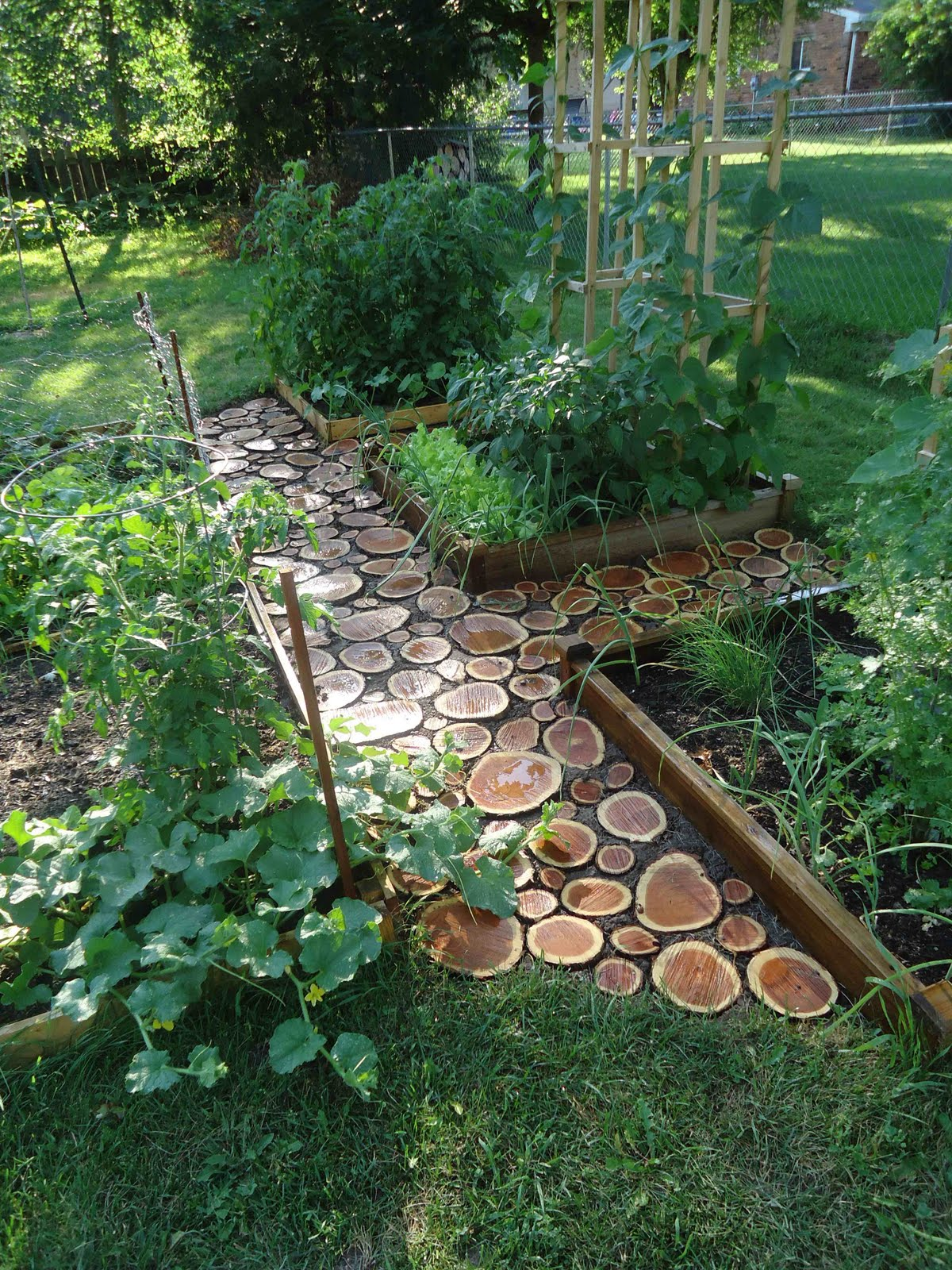 Domesticated nomad garden path for Gartengestaltung wege