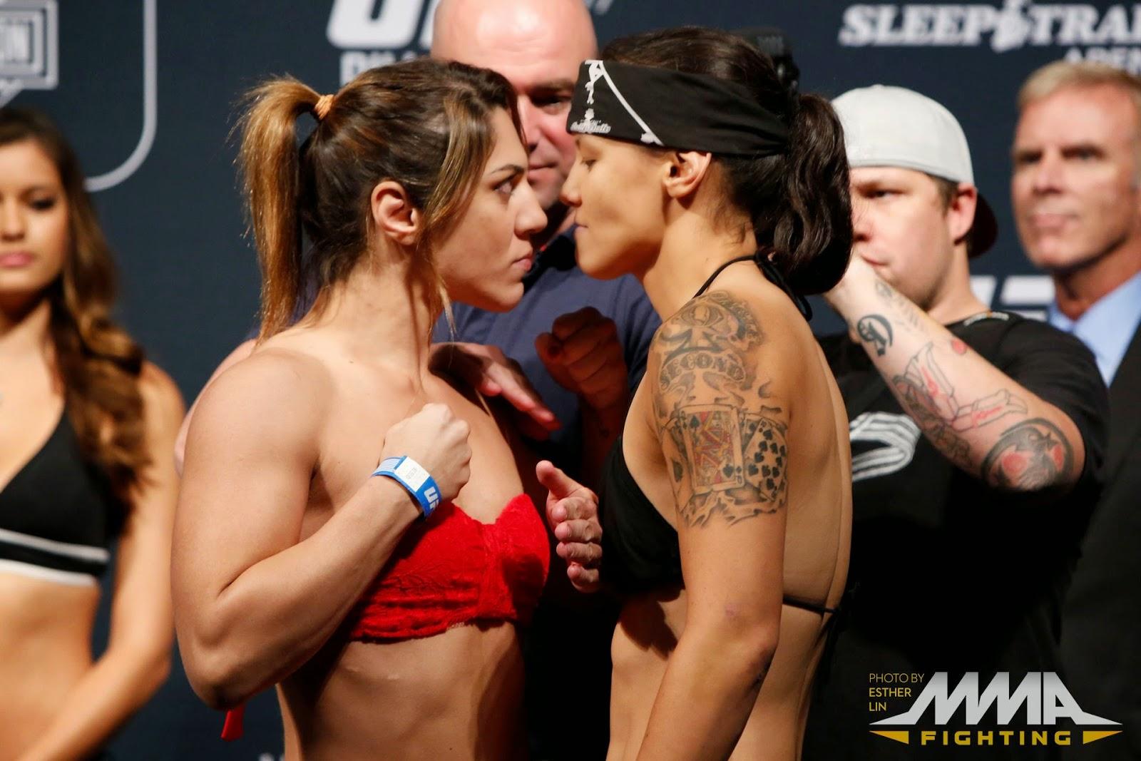 Bethe Correia vs. Shayna Baszler