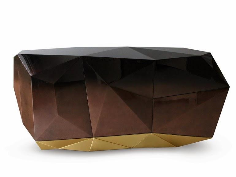 эксклюзив тумба гостиная золото дизайн гламур шоколад