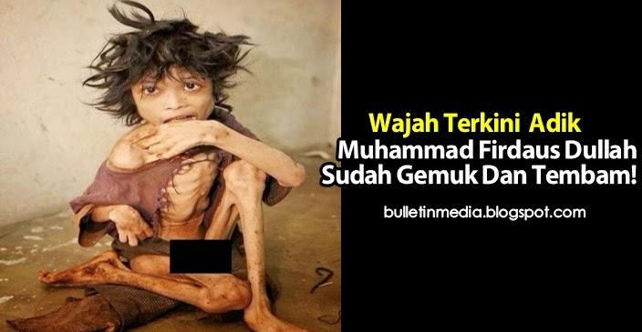 Wajah Terkini Adik Muhammad Firdaus Dullah Sudah Gemuk Dan Tembam!