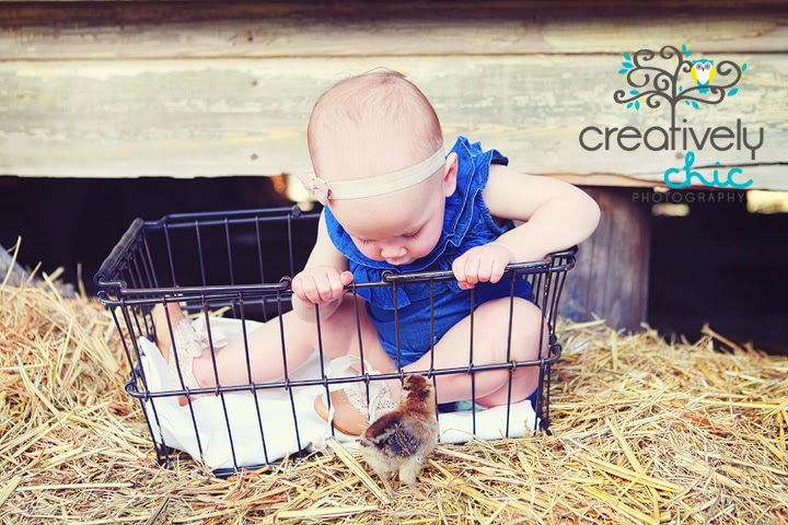 ~ Easter Photo Ideas with baby chicks~