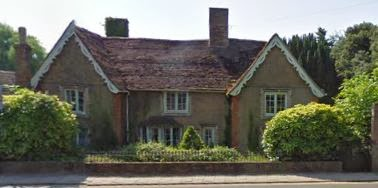 The Gables, Ramsey, Huntingdonshire, former residence of Dr. Willem Hertzog.