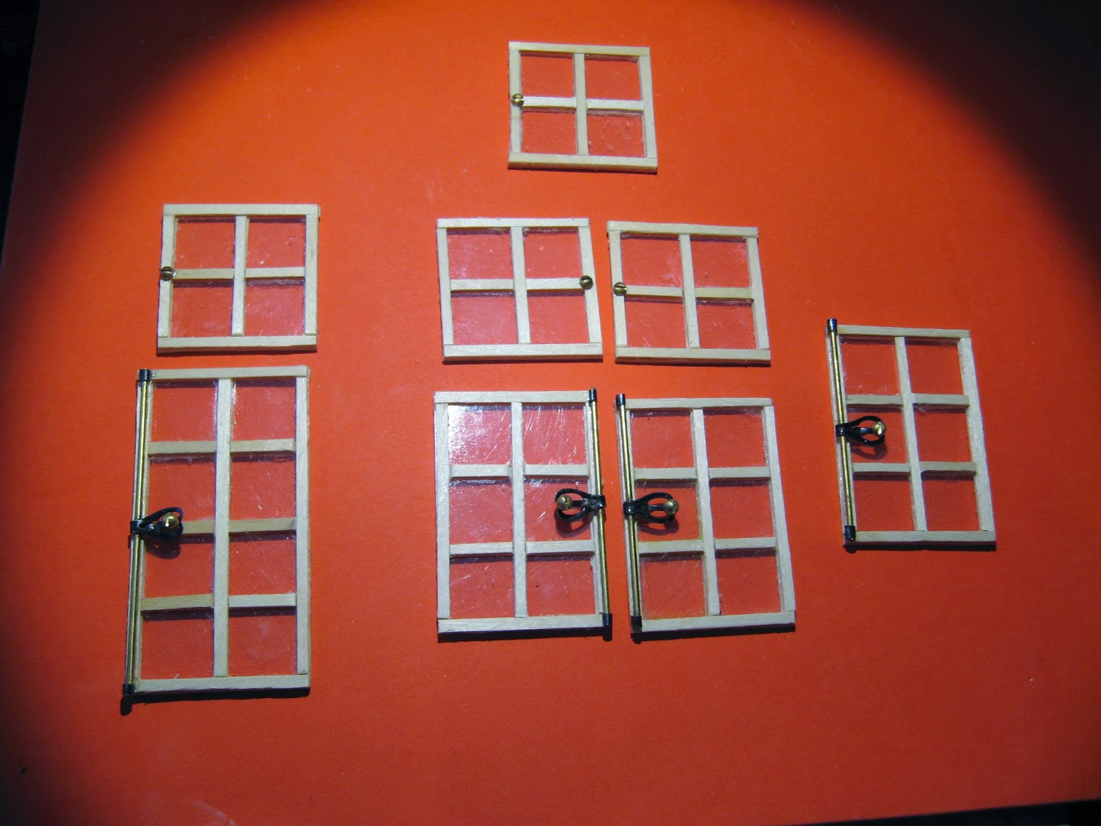 maf miniatures faire une fen tre. Black Bedroom Furniture Sets. Home Design Ideas