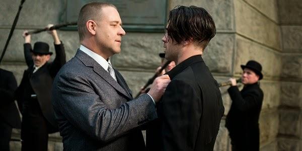 Russell Crowe e Colin Farrell em UM CONTO DO DESTINO (Winter's Tale)