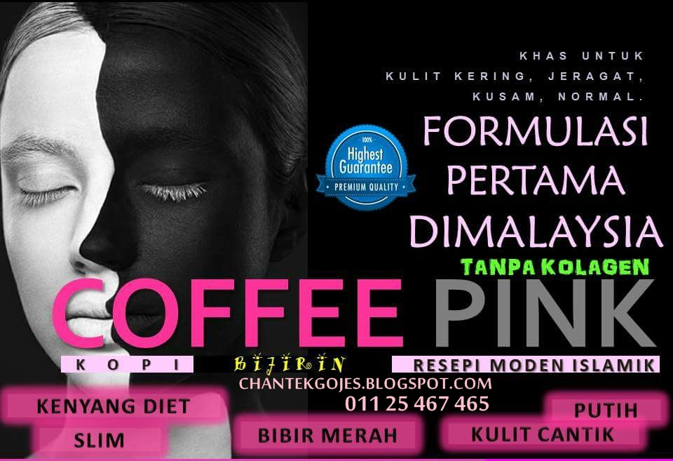 COFFEE PINK @ KOPI PINK 100% ORIGINAL