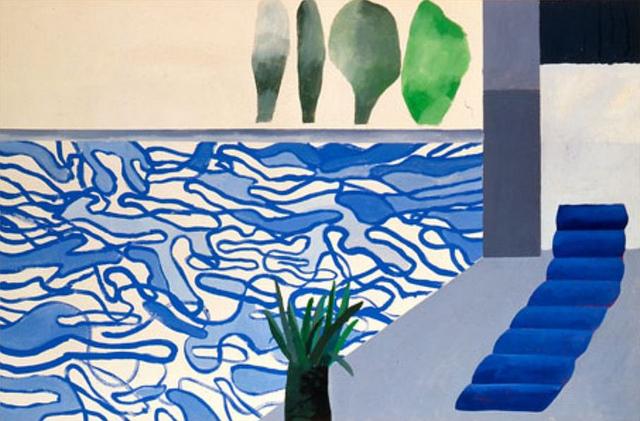 Emma Louise Layla Uk Fashion And Lifestyle Blog David Hockney Swimming Pools