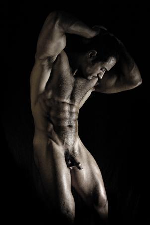 Desnudo Hombre Artistico