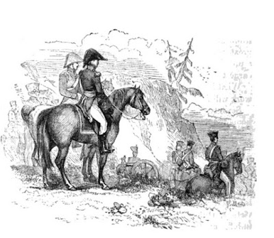 Illustration from The Life of Field-Marshal His Grace the Duke of Wellington by WH Maxwell (1852)