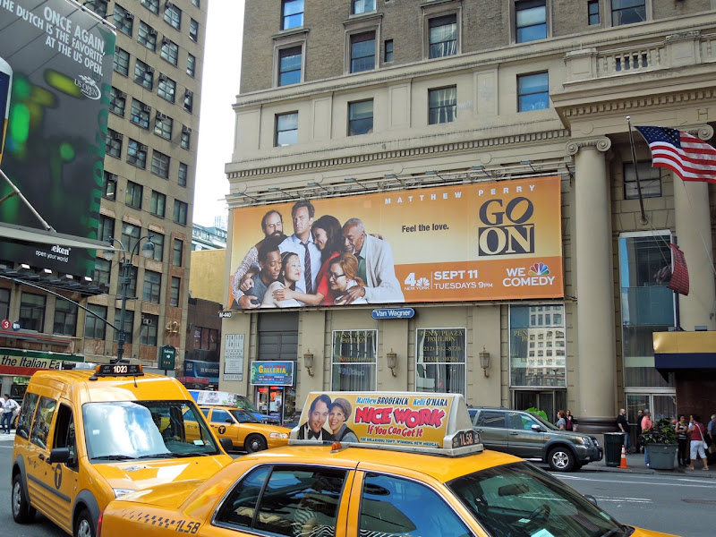Go On NBC billboard 7th Avenue