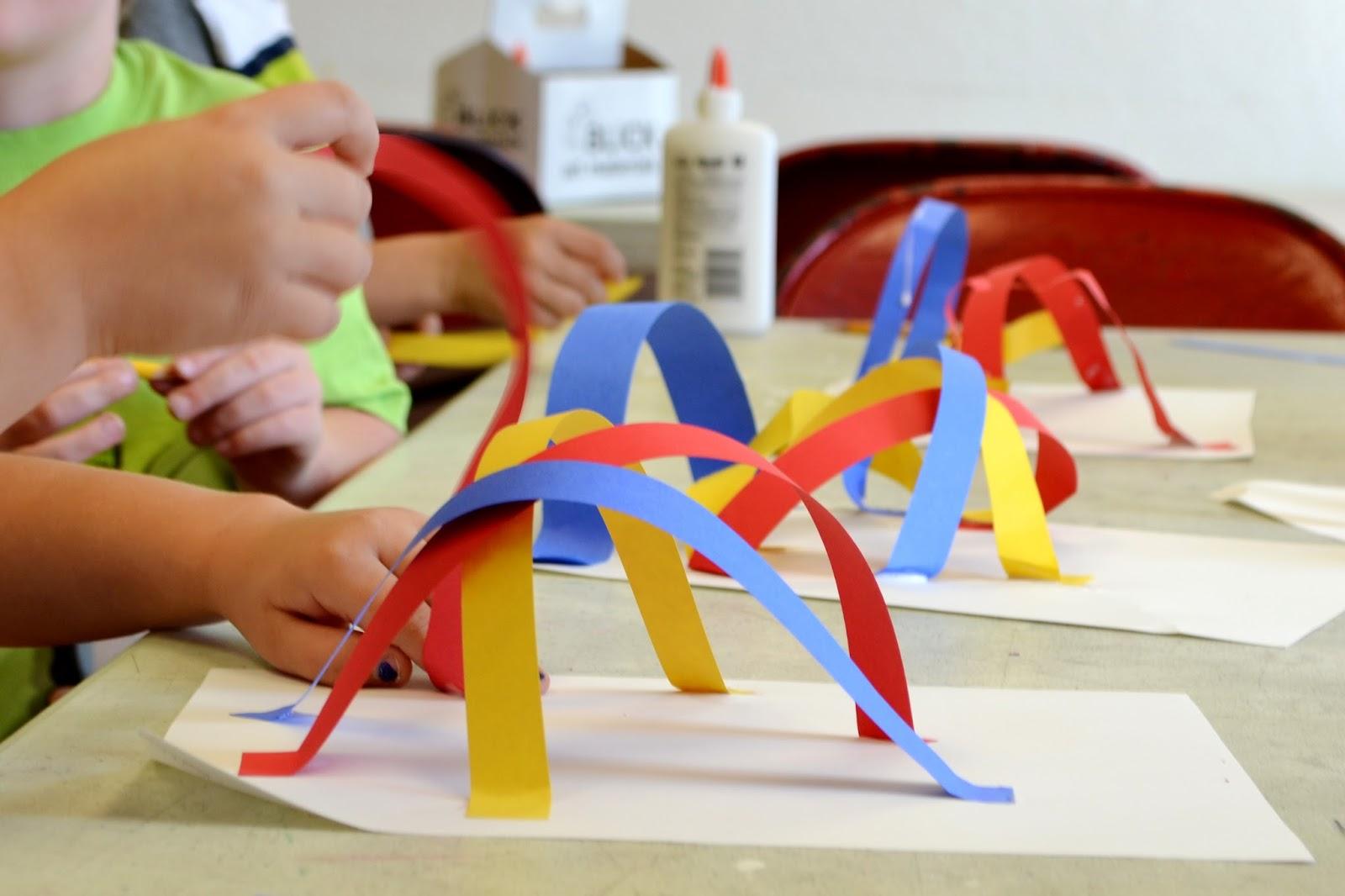 Line Art Lesson For Kindergarten : Kindergarten line coaster sculptures lessons from the