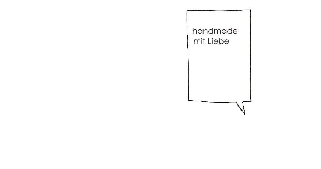 handmade mit Liebe
