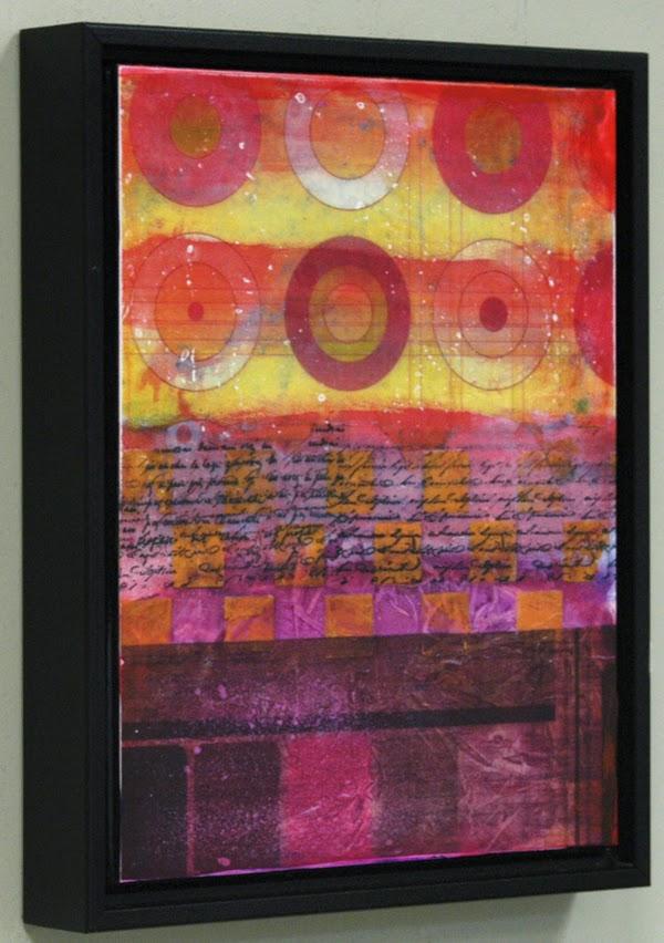 mixed media painting by Sandra Duran Wilson