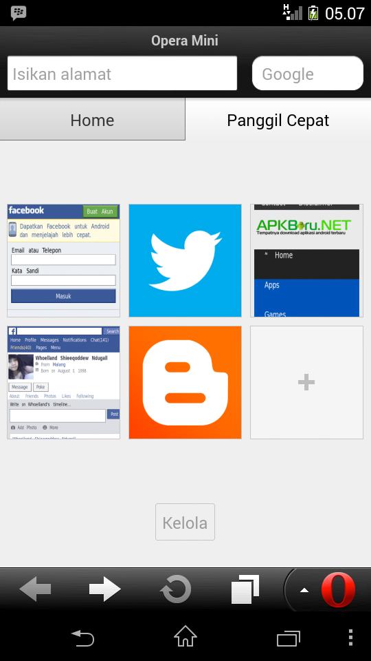 Opera Mini for Android Terbaru
