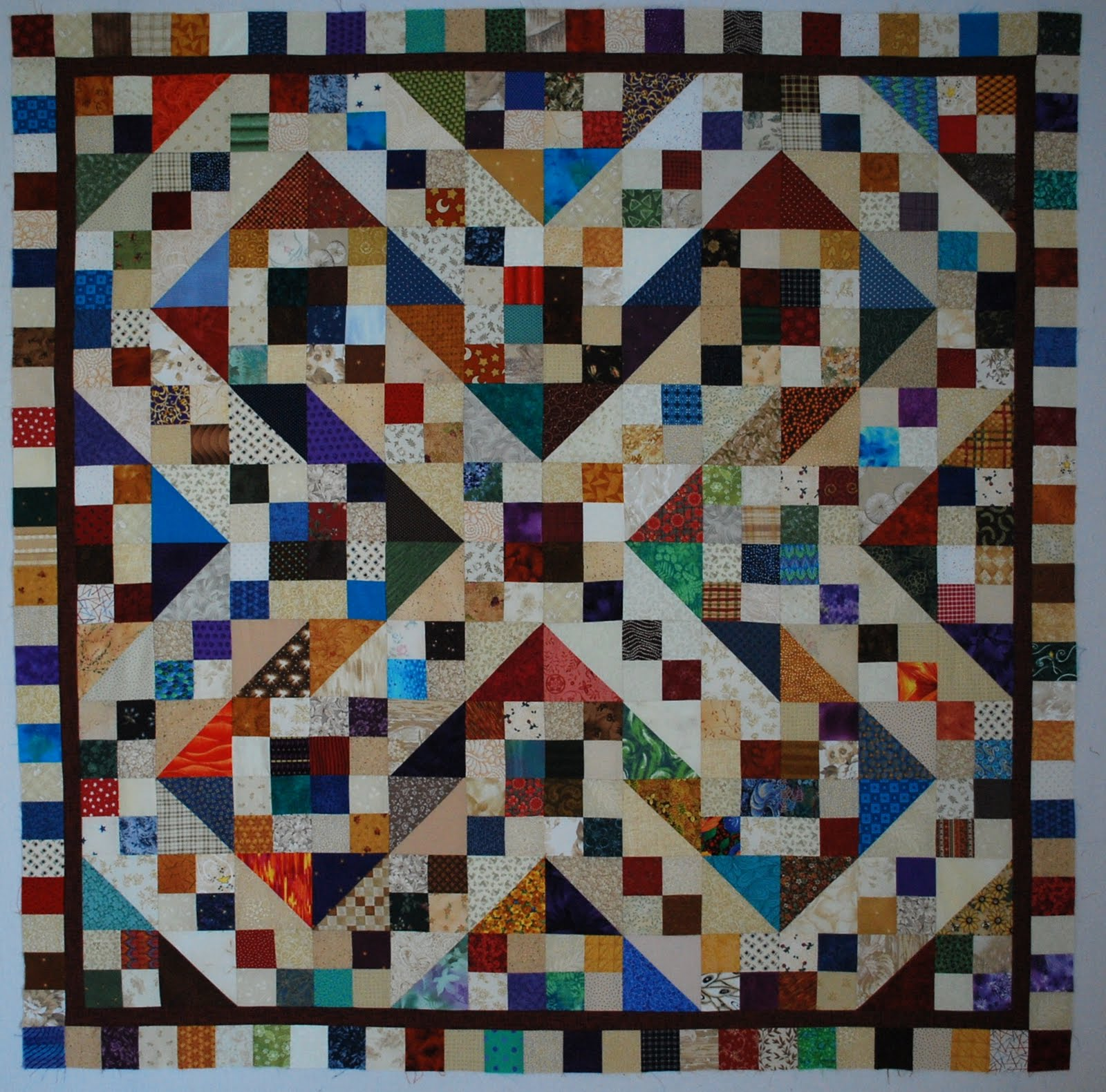 Double Nickel Quilts: FREE pattern added