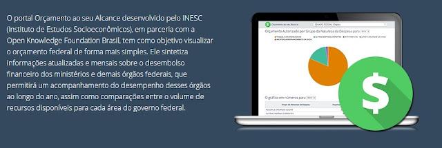 Site permitirá à qualquer cidadão, visualizar gráficos e tabelas, referentes a gastos dos recursos públicos.
