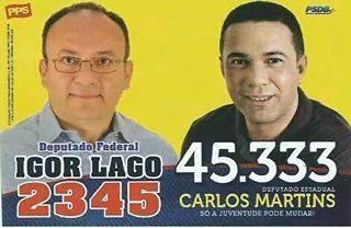 Carlos Martins e Igor Lago