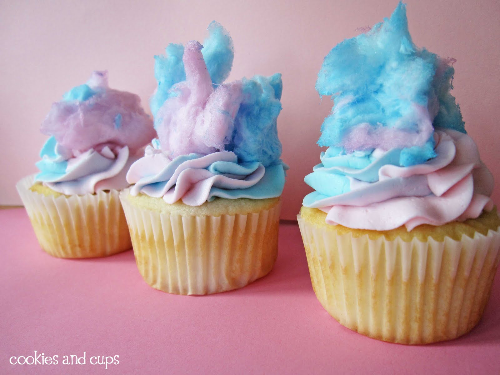 Cotton Candy Cake Cookies Recipe