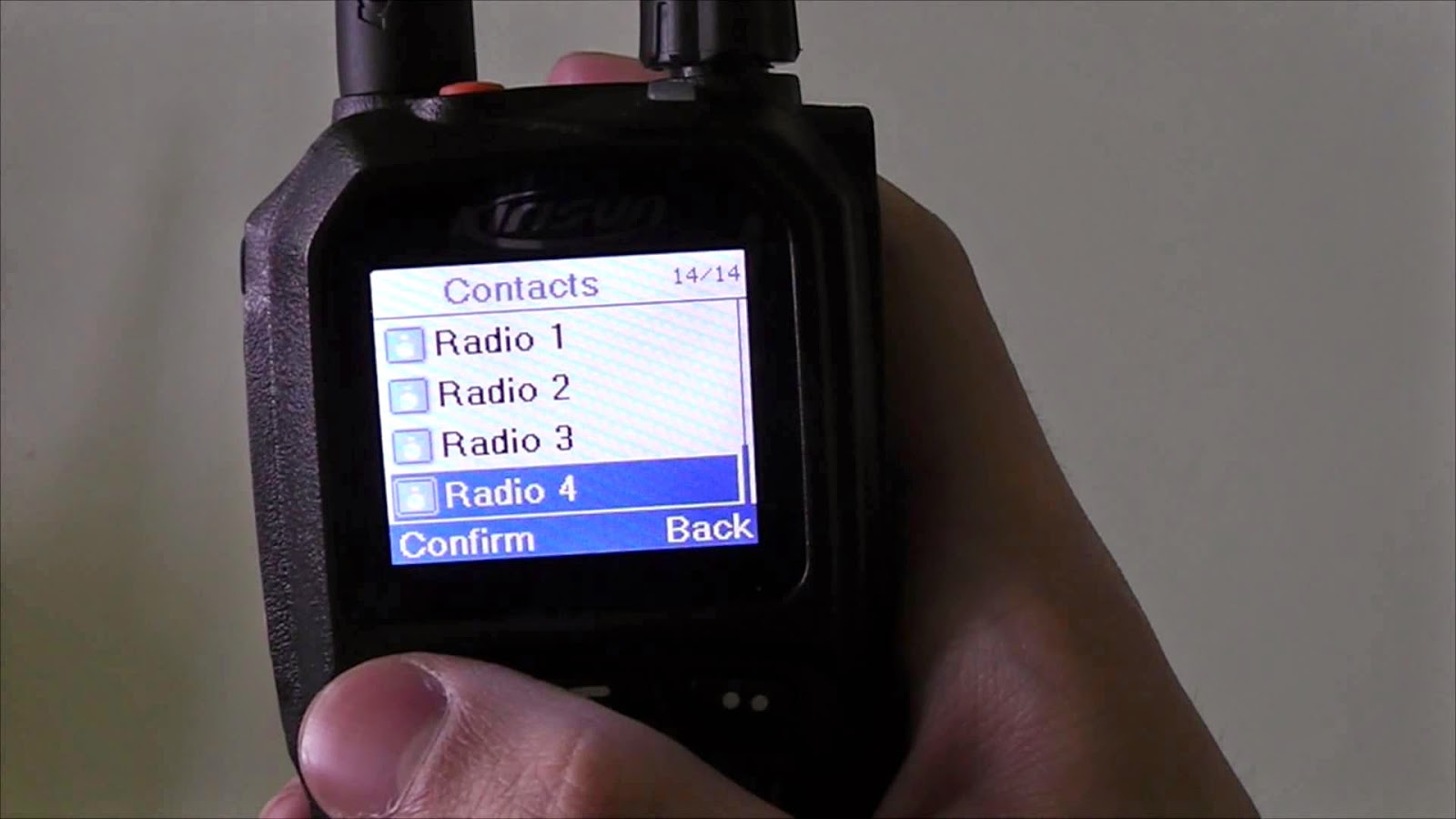 Picture of the Kirisun DP770 DMR radio