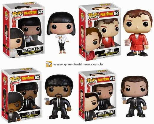 Bonecos Funko Pop Pulp Fiction