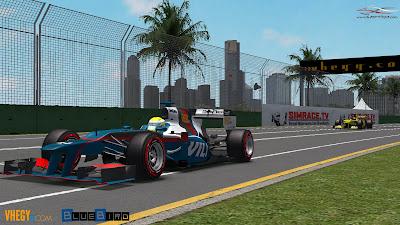 Formula-1 Szentliga, Szentliga, szimulátorbajnokság, sport, F1, BlueBird Racing, Ausztrál Nagydíj,