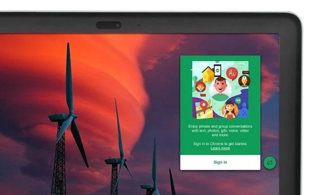 Hangouts App desde Google Chrome