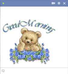 Good Morning Emoticon For Facebook Chat
