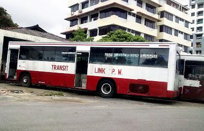 bas transit link, sejarah bas di pulau pinang, penang bus services, history of penang bus,
