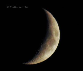Moon photo 02 KmBennettArt