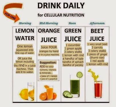 Drink Daily For Cellular Nutrition