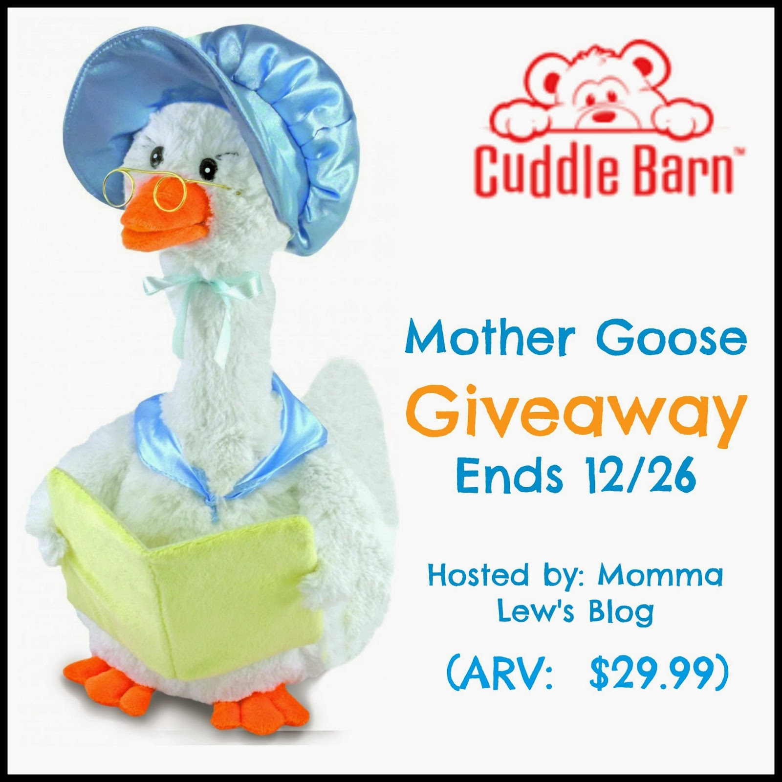 Cuddle Barn Mother Goose Giveaway