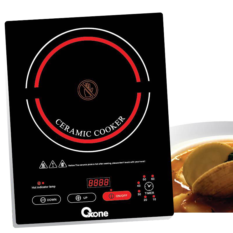 OX 644 Oxone Induction Ceramic Cooker