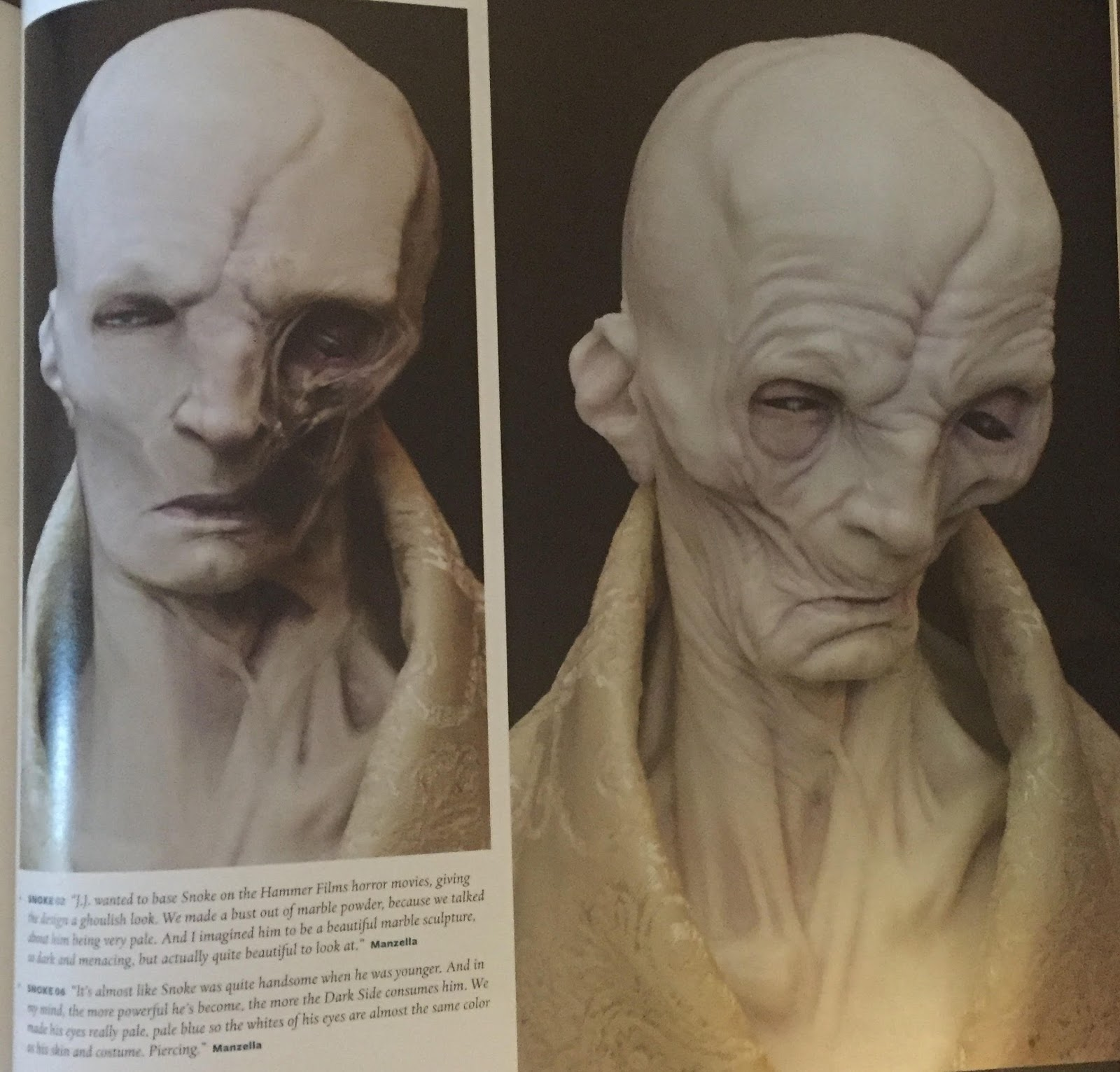 Afbeeldingsresultaat voor snoke art of force awakens