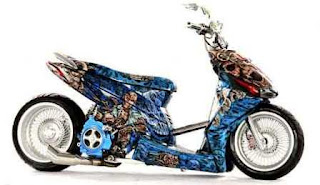 jika untuk motor seperti honda vario honda beat atau pun yamha mio
