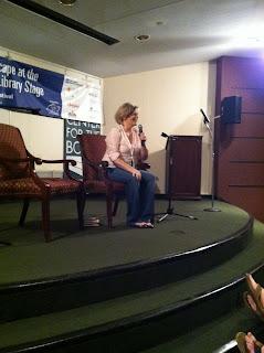 Lisa McMann at Decatur Book Festival