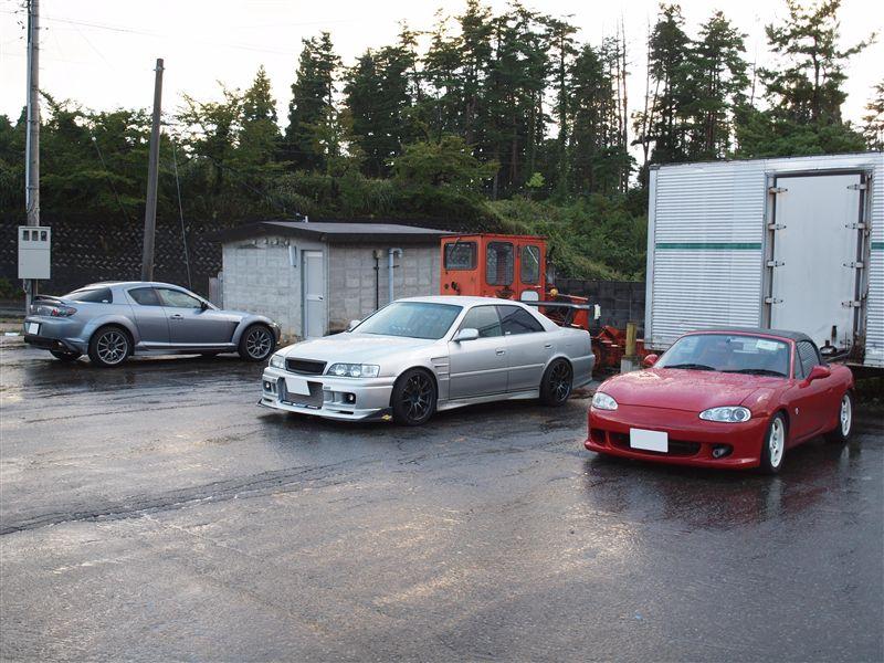 Mazda RX-8, Toyota Chaser X100, Mazda MX-5 NB